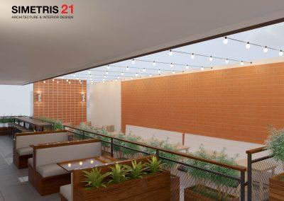 Cafe & Resto Contemporary Design - EXT LT.1a