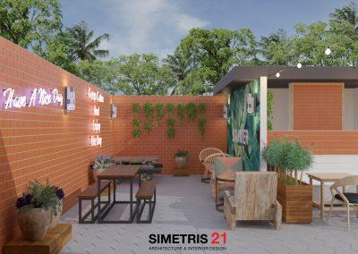 Cafe & Resto Contemporary Design - EXT LT.1b