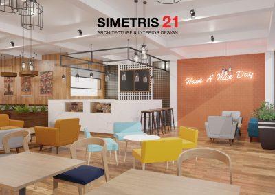 Cafe & Resto Contemporary Design - LT.1a